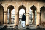 Ali Mohammad Khan at the Mehmudabad Qila, Uttar Pradesh.