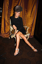TARA PALMER-TOMKINSON at a party to celebrate the 50th Anniversary of Gina Shoes held at The Bar, The Dorchester, Park Lane, London on 19th September 2006.<br />