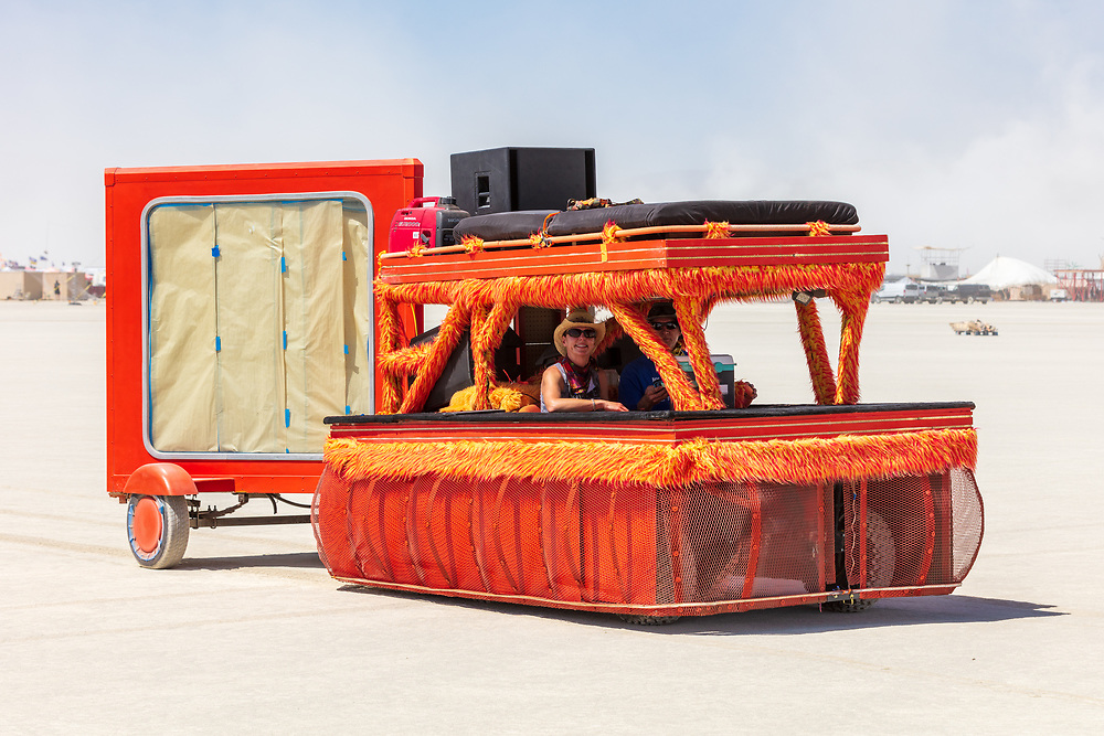 I've been really enjoying the smaller mutant vehicles like this. Name unknown. My Burning Man 2019 Photos:<br />