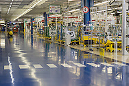 San Nicola di Melfi (PZ) 28.05.2015 - Production line at the FCA (Fiat Chrysler Automobiles) Factory where is the assembly of Jeep Renegade and Fiat 500. Photo Giovanni Marino