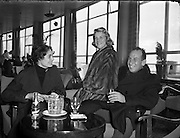 Film Stars - Rosemary Clooney and Jose Ferrer on a visit to Ireland<br /> 22/01/1954<br /> <br /> Jos&eacute; Vicente Ferrer de Otero y Cintr&oacute;n (08/01/1912 &ndash; 26/01/1992), best known as Jos&eacute; Ferrer, was a Puerto Rican actor, as well as a theater and film director. He was the first Hispanic actor to win an Academy Award.<br />