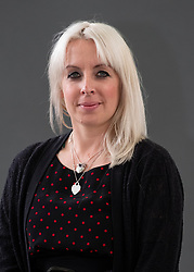 """Edinburgh, Scotland, UK; 17 August, 2018. Pictured; Claire O'Callaghan is a Bronte specialist and her new book """" Bronte Reappraised"""" offers revealing insights into Emily Bronte."""