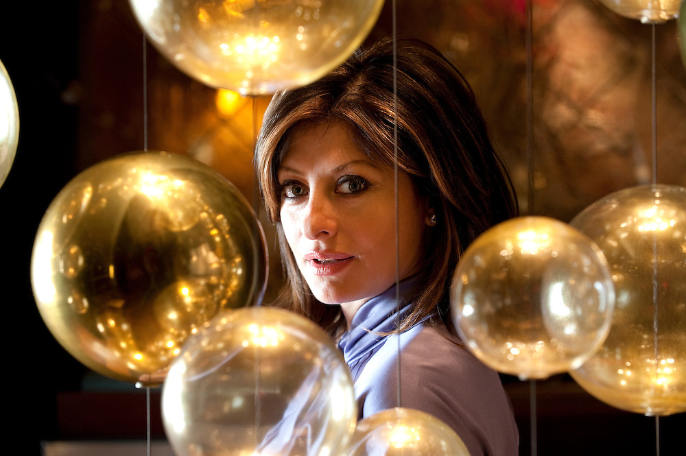 "Maria Bartiromo anchor of CNBC's ""Closing Bell"