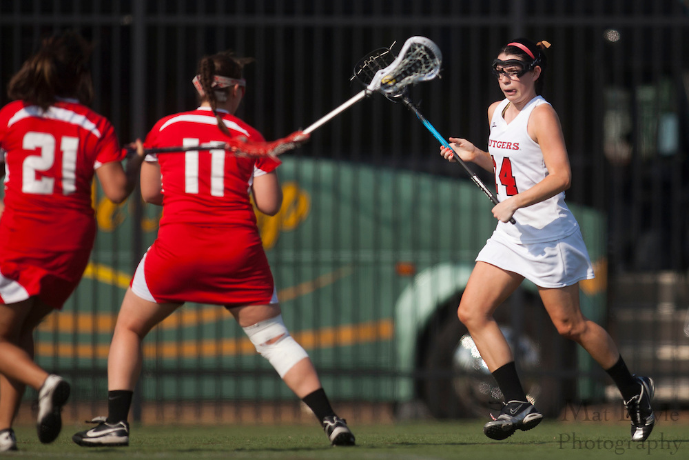 Rutgers-Camden Lacrosse against Montclair State University  on Wednesday March 21, 2012. (photo / Mat Boyle)
