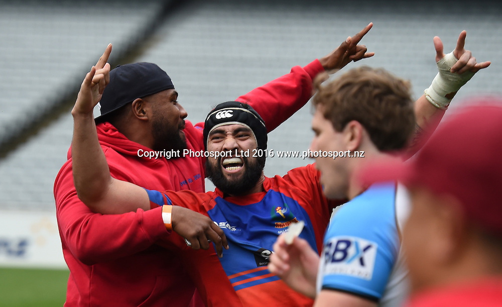 Grammar TEC v Suburbs, Auckland Premier Club Rugby. Gallaher Shield Final. Eden Park, Auckland, New Zealand. Saturday 30 July 2016. © Copyright Photo: Andrew Cornaga / www.Photosport.nz