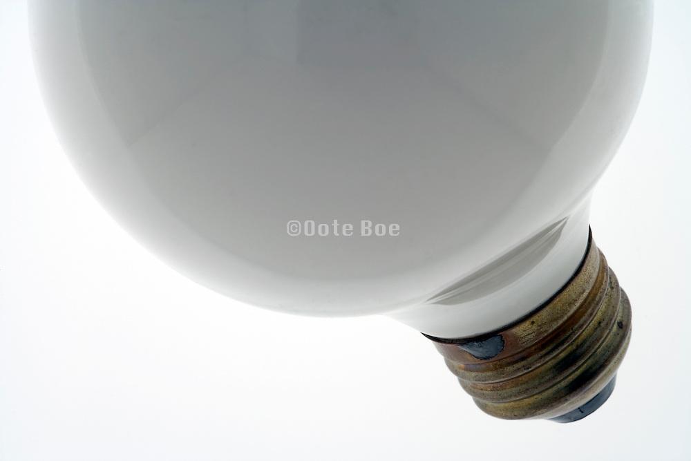 an Edison screw in bulb