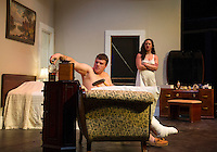 "Winnipesaukee Playhouse dress rehearsal for ""Cat On a Hot Tin Roof"".     (Karen Bobotas/for the Laconia Daily Sun)"