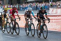 Chetout, Kennaaugh, Jauregui and Bouwman during the last stage or La Vuelta of Spain in Madrid. September 10, 2016. (ALTERPHOTOS/Rodrigo Jimenez)