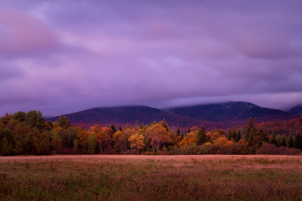 Autumn in Lake Placid, Adirondack Park, New York