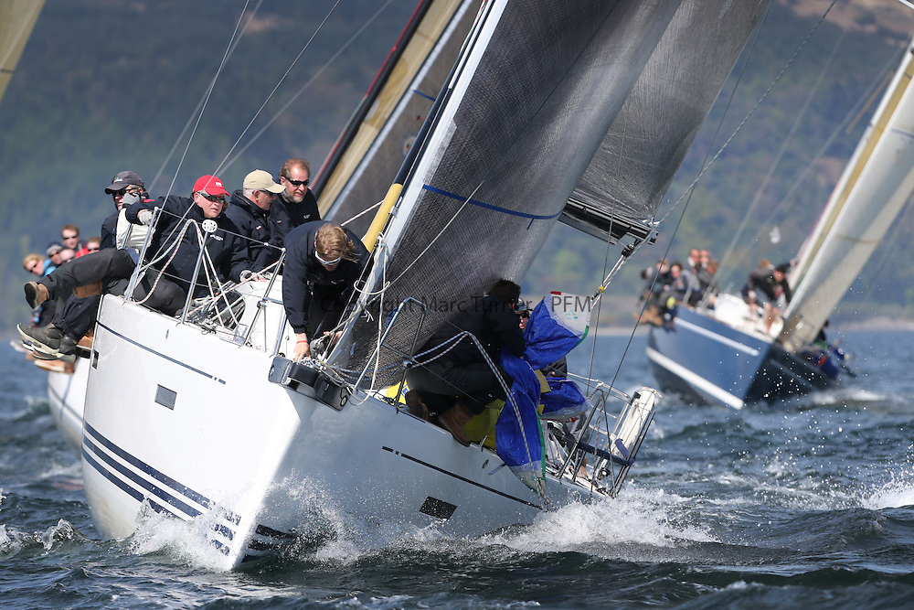 The Clyde Cruising Club's Scottish Series held on Loch Fyne by Tarbert. Day 2 racing in a perfect southerly..GBR8038R ,Roxstar ,Jonathan Anderson, CCC ,XP38i