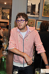 ISAAC FERRY at the opening of the new Jack Spade store at 83 Brewer street, London on 29th March 2012.