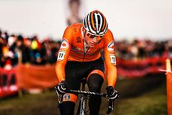 Mathieu van der Poel, 2019 Men Elite UCI Cyclo-cross World Championships at Bogense, Denmark, 3 Februari 2019. Photo by Pim Nijland / PelotonPhotos.com | All photos usage must carry mandatory copyright credit (Peloton Photos | Pim Nijland)