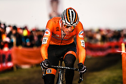 Mathieu van der Poel, 2019 Men Elite UCI Cyclo-cross World Championships at Bogense, Denmark, 3 Februari 2019. Photo by Pim Nijland / PelotonPhotos.com | All photos usage must carry mandatory copyright credit (Peloton Photos | Pim Nijland)
