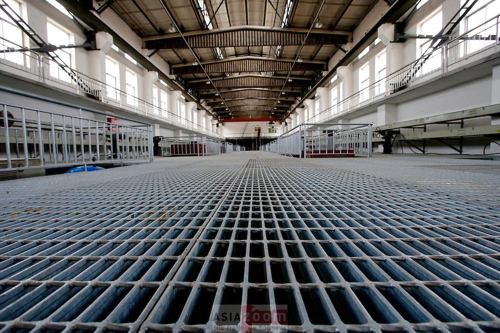 Pumping Station at Lanzhou Water Company, Lanzhou China 2007