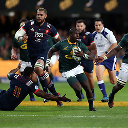 Raymond Rhule of South Africa during the 2nd Castle Lager Incoming Series Test match between South Africa and France at Growthpoint Kings Park on June 17, 2017 in Durban, South Africa. (Photo by Steve Haag Sports)