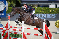 Maher Ben (GBR) - Triple X III<br /> Furusiyya FEI Nations Cup Jumping Final Round 1<br /> CSIO Barcelona 2013<br /> © Dirk Caremans
