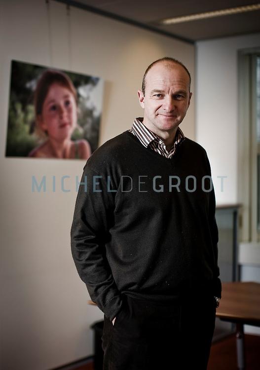 WAALRE, THE NETHERLANDS, December 23, 2009 Rob Howe, ceo van softwarebedrijf Verum. (photo by Michel de Groot)