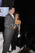 Simon Cowell and Paula Abdul. GQ Men Of The Year Awards at the Royal Opera House, London. September 6, 2005 in London, England, ONE TIME USE ONLY - DO NOT ARCHIVE  © Copyright Photograph by Dafydd Jones 66 Stockwell Park Rd. London SW9 0DA Tel 020 7733 0108 www.dafjones.com