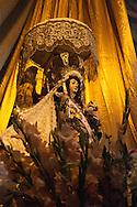 "Feast of ""Mamacha del Carmen"" of Paucartambo. Mamacha in the church in the days of the festival"