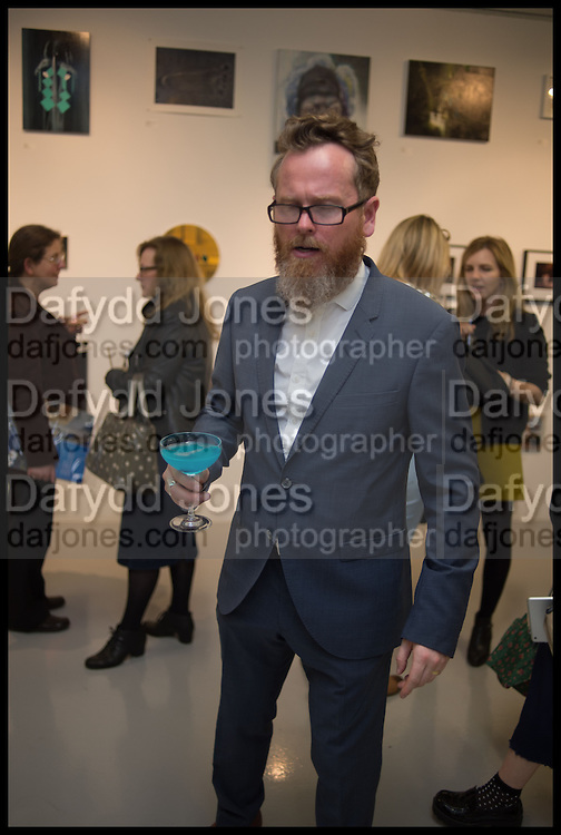 ZAVIER ELLIS, The Future Can wAit and Sensations 2014 exhibition , Victoria House, Bloomsbury. London. 13 October 2014.