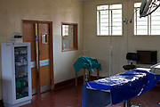 Inside the main theatre at Kasangati Health Centre, Uganda.