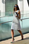 All White Look, Outside BCBG SS2015