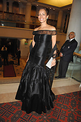 ANDREA DELLAL at the Feast of Albion a sumptious locally-sourced banquet in aid of The Soil Association held at The Guildhall, City of London on 12th March 2008.<br />