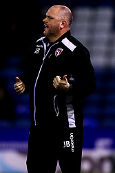 Morecambe manager Jim Bentley - Mandatory by-line: Robbie Stephenson/JMP - 19/02/2019 - FOOTBALL - Boundary Park - Oldham, England - Oldham Athletic v Morecambe - Sky Bet League Two
