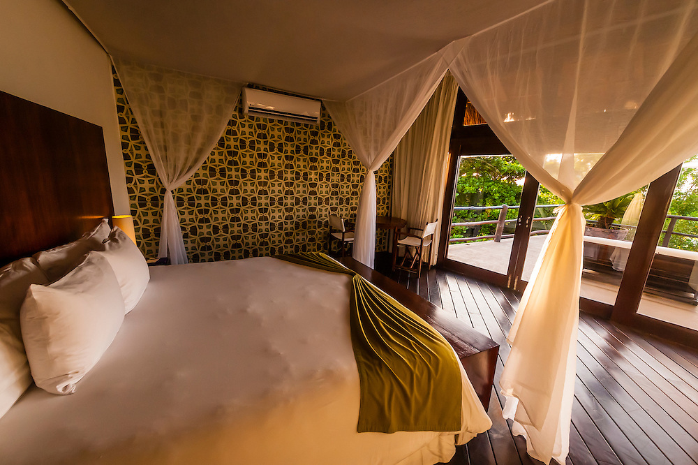 A spacious guestroom overlooking the beach, Le Reve Hotel, Riviera Maya, Quintana Roo, Mexico
