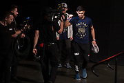 DALLAS, TX - MAY 12:  Yair Rodriguez of Mexico walks to the scale during the UFC 211 weigh-in at the American Airlines Center on May 12, 2017 in Dallas, Texas. (Photo by Cooper Neill/Zuffa LLC/Zuffa LLC via Getty Images)