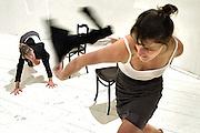 The Netherlands Hoorn 01 september 2012<br /> Poolse Vis met hun performance: Dream.<br /> Eveline Agema and Inge Voskamp.<br /> Foto: Jan Boeve