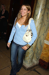 MISS WILLA KESWICK daughter of Simon Keswick at a party following the TopShop Unique fashion show held at Home House, Portman Square, London on 19th September 2005.<br /><br />NON EXCLUSIVE - WORLD RIGHTS