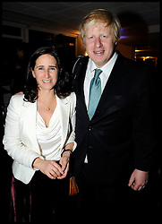 Boris Johnson and his wife Marina on the night he won the London Mayor Election, Friday May 4, 2012.Photo by Andrew Parons/i-Images