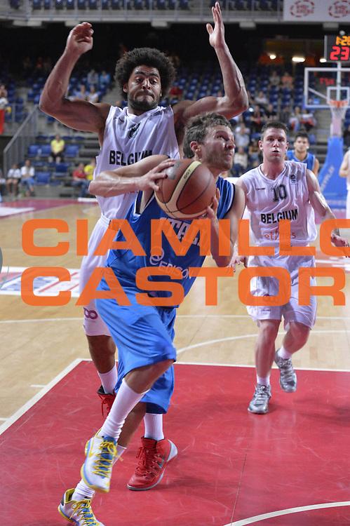 DESCRIZIONE : Anversa European Basketball Tour Antwerp 2013 Belgio Italia Belgium Italy<br /> GIOCATORE : Diener Travis<br /> CATEGORIA : penetrazione<br /> SQUADRA : Nazionale Italia Maschile Uomini<br /> EVENTO : European Basketball Tour Antwerp 2013 <br /> GARA : Belgio Italia Belgium Italy<br /> DATA : 17/08/2013<br /> SPORT : Pallacanestro<br /> AUTORE : Agenzia Ciamillo-Castoria/GiulioCiamillo<br /> Galleria : FIP Nazionali 2013<br /> Fotonotizia : Anversa European Basketball Tour Antwerp 2013 Belgio Italia Belgium Italy<br /> Predefinita :
