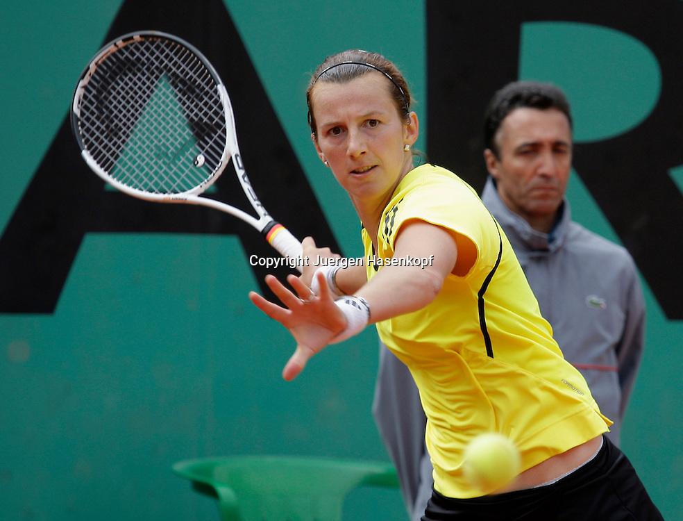 French Open 2009, Roland Garros, Paris, Frankreich,Sport, Tennis, ITF Grand Slam Tournament, <br /> <br /> Kristina Barrois (GER).<br /> <br /> Foto: Juergen Hasenkopf