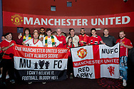 PERTH, AUSTRALIA - JULY 13: NSW Manchester United supporters club at pregame during the International soccer match between Manchester United and Perth Glory on July 13, 2019 at Optus Stadium in Perth, Australia. (Photo by Speed Media/Icon Sportswire)