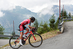 Alice Arzuffi (ITA) at Giro Rosa 2018 - Stage 7, a 15 km individual time trial from Lanzada to Alpe Gera di Campo Moro, Italy on July 12, 2018. Photo by Sean Robinson/velofocus.com