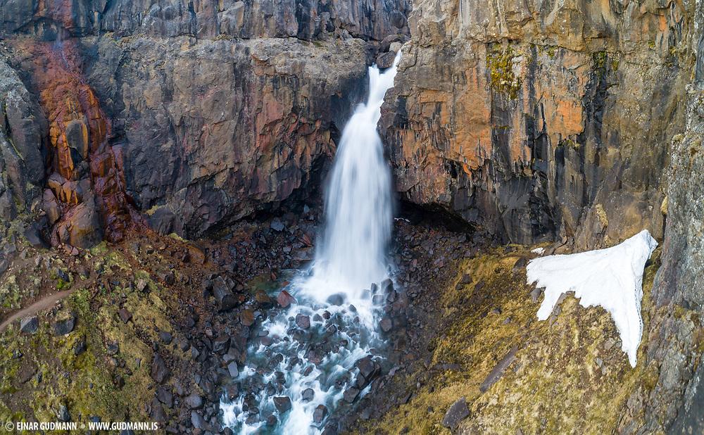 Fardagafoss is near Egilsstadir in East-Iceland.