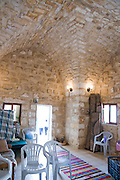 Israel, Isfiya (also known as Ussefiya), is a Druze village and local council Located on Mount Carmel, 130 year old arched building