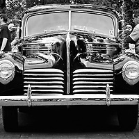 Vintage Automobile (Hudson?)