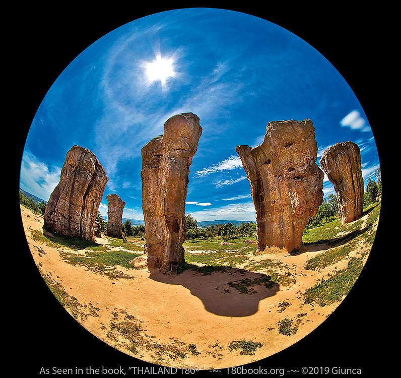 Thai Stonehenge, AKA Mor Hin Khao in Chaiyaphum, Thailand