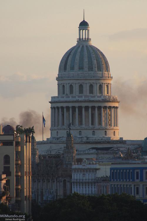 Capitolio. Habana Vieja, 2009.