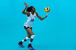 14-10-2018 JPN: World Championship Volleyball Women day 15, Nagoya<br /> China - United States of America 3-2 / Foluke Akinradewo #16 of USA