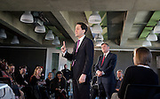 Rt Hon Ed Miliband MP<br /> Leader of the Labour party and leader of the opposition<br /> and the Rt Hon Ed Balls MP Shadow Chancellor press conference and Q & A <br /> 30th April 2012 <br /> Coing Street Neigbourhood Centre, London, Great Britain <br /> <br /> <br /> Ed Miliband<br /> Ed Balls
