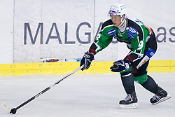 Sami Ryhanen (HDD Tilia Olimpija, #9) at 1st Round ice hockey match of EBEL league between HDD Tilia Olimpija and EV Vienna Capitals, on September 10, 2010, in Hala Tivoli, Ljubljana, Slovenia. (Photo by Matic Klansek Velej / Sportida)