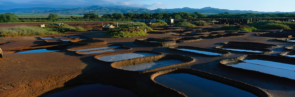 Hanapepe Salt Ponds, Kauai, Hawaii<br />