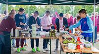 AMSTERDAM -  BBQ, Barbeque  Deloitte Students Hockey Trophy .     COPYRIGHT KOEN SUYK