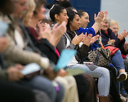 Parents applaud at the ROC The Night Away holiday concert at the David F. Gantt Community Center in Rochester on Wednesday, December 17, 2014.