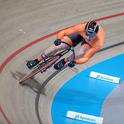 02-03-2018: Wielrennen: WK Baan: Apeldoorn<br />Harry Lavereijsen rijdt de vierde kwalificatietijd