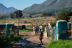 Mountain View, an informal settlement in Jamestown, which is located in the Cape Winelands, one of the districts in the Western Cape that has been designated a hotspot area, in terms of people testing positive for COVID-19, Saturday May 29, 2020. When South Africa moves down to Stage 3 of the nationwide lockdown on June 1st, hotspots areas will remain under stricter regulation and surveillance, per the latest government announcements. PHOTO: EVA-LOTTA JANSSON